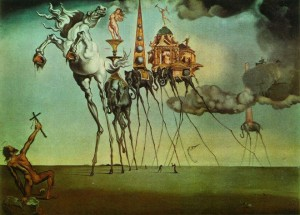 1-the-temptation-surreal-painting-by-salvador-dali-preview