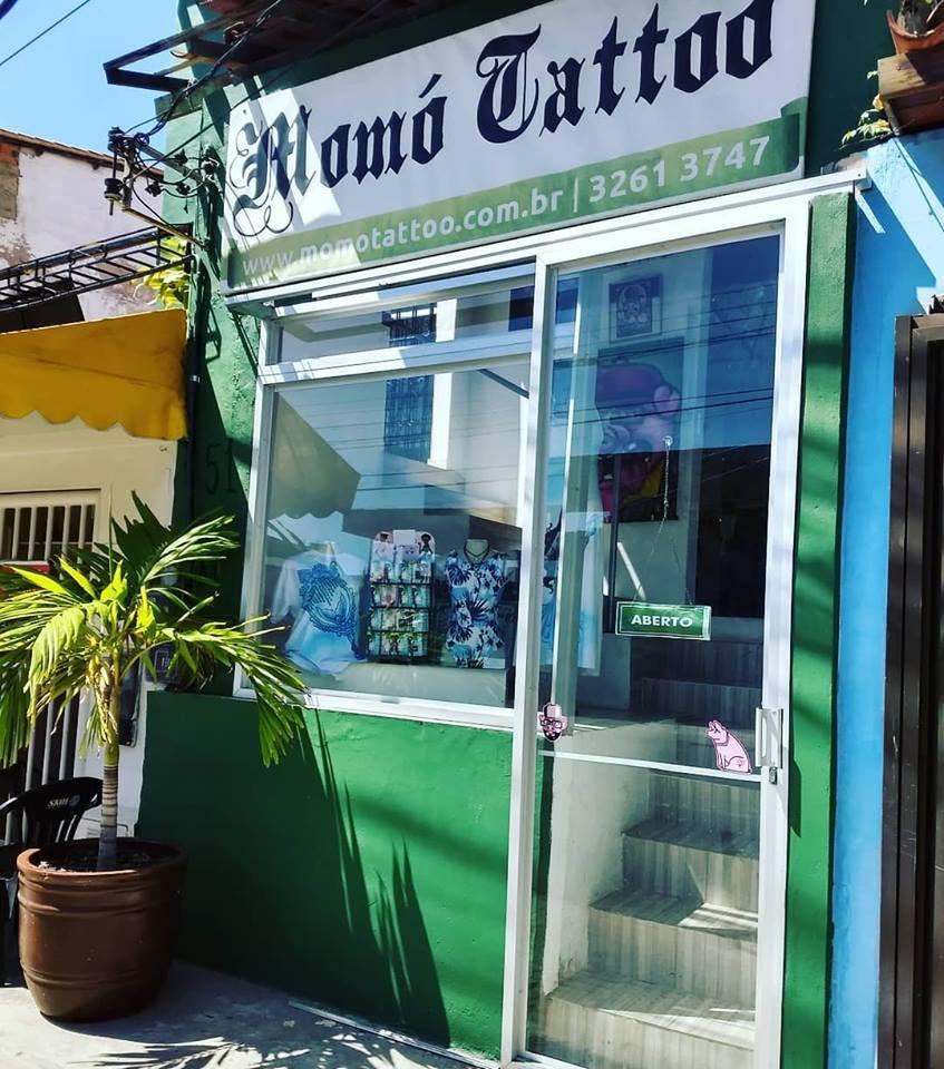 Momó Tattoo Studio – Salvador – Bahia – Brasil